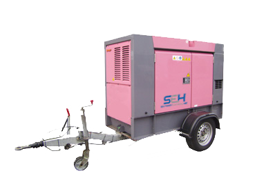 Small Towable Power Generator