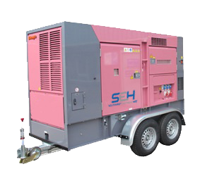 Medium Towable Power Generator